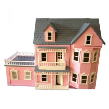 Pink Conservatory Dolls House