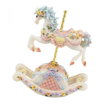musical rocking horse carousel
