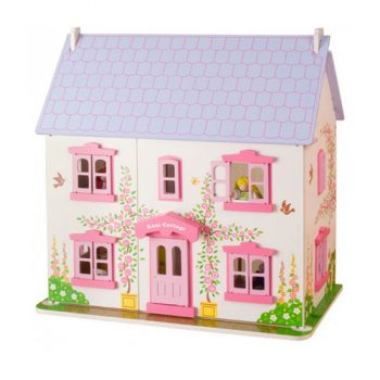 Rose Cottage Wooden Dolls House