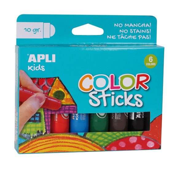Apli color sticks crayons for kids