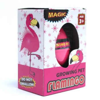 hatching flamingo egg