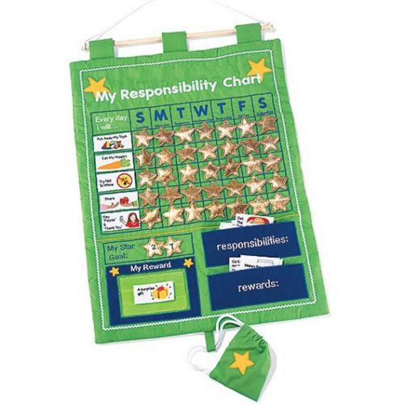 My Responsibility Chart Green C34g