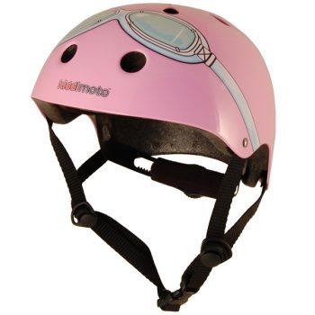 Pink Google Helmet Kiddimoto