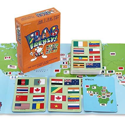 Flag Frenzy Game
