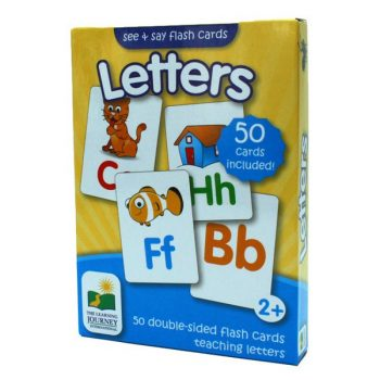 Flash Cards Letters