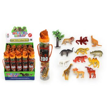Zoo Animals Play Set