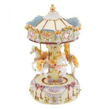 Musical Carousel with horses